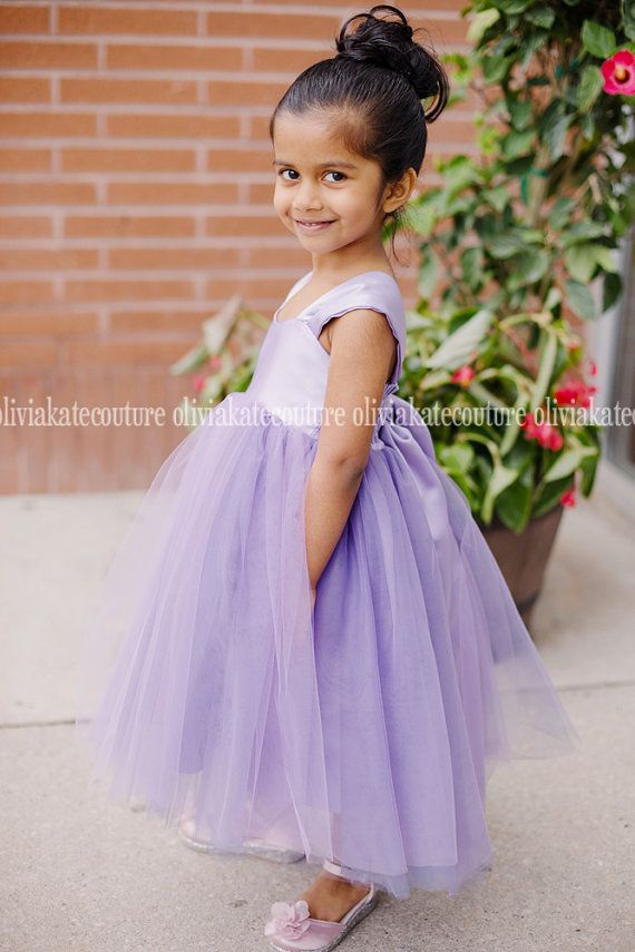 3635154b4 Flower Girl Dress Wisteria Light Purple in 2019 | ball dresses ...