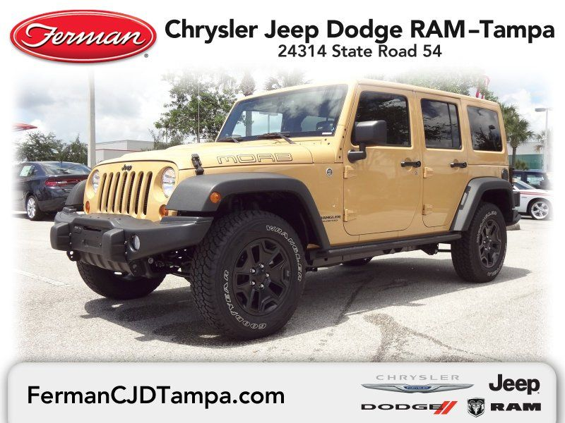 2013 Jeep Wrangler Unlimited Sahara 4x4 Dune Clear Coat 2013