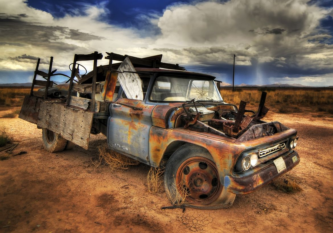 Rusty Junk! | My Style | Pinterest | Trucks, Old trucks and Good by