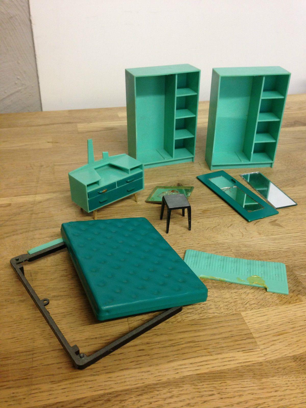 Vintage Retro Triang Spot On Job Lot 1 16 Dolls House Bedroom Spares Repair  | EBay