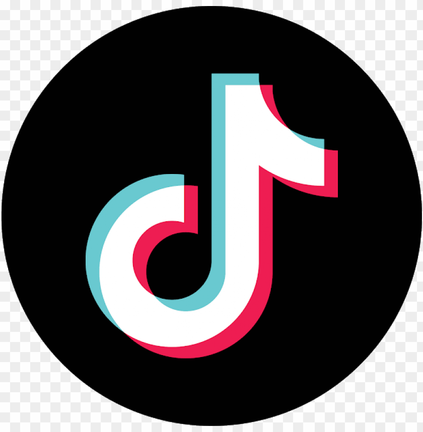 Tik Tok Icon Circle Png Image With Transparent Background Png Free Png Images In 2021 Picture Logo Png Png Images