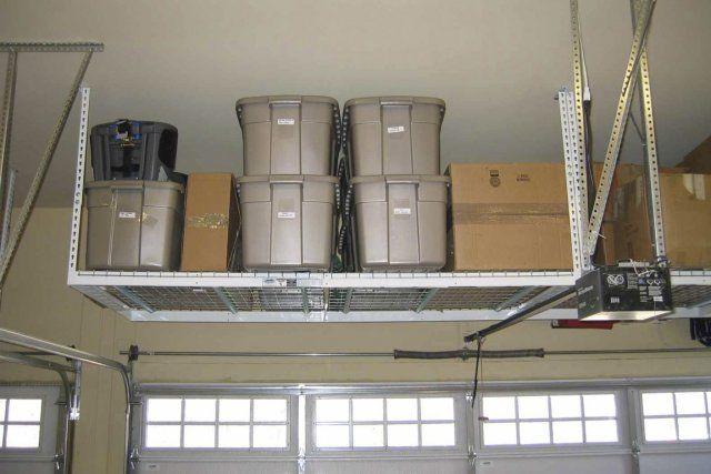 un rangement idyllique au plafond prix de base photo fournie par garage outtfiters home. Black Bedroom Furniture Sets. Home Design Ideas
