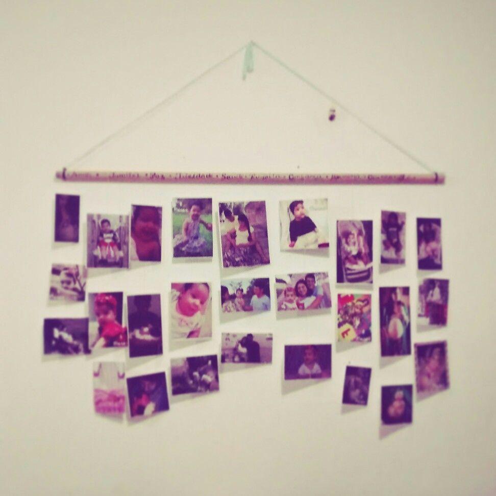Varal de fotos 💕