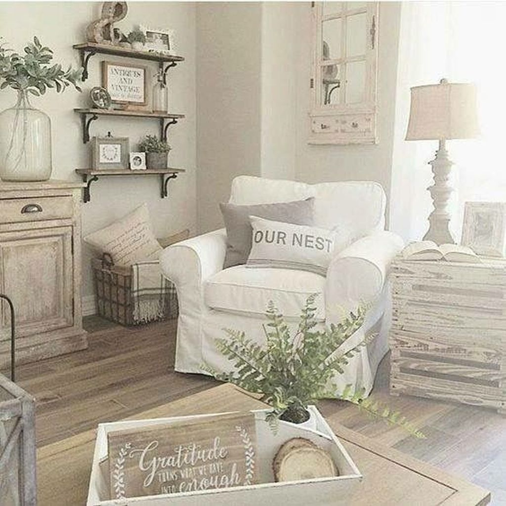 Cool 88 Rustic Farmhouse Living Room Decor Ideas. More at http ...