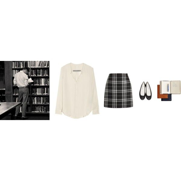 Untitled #69 by kennahook on Polyvore featuring polyvore, fashion, style, Raquel Allegra, J.Crew, Repetto, Mark & Graham and clothing