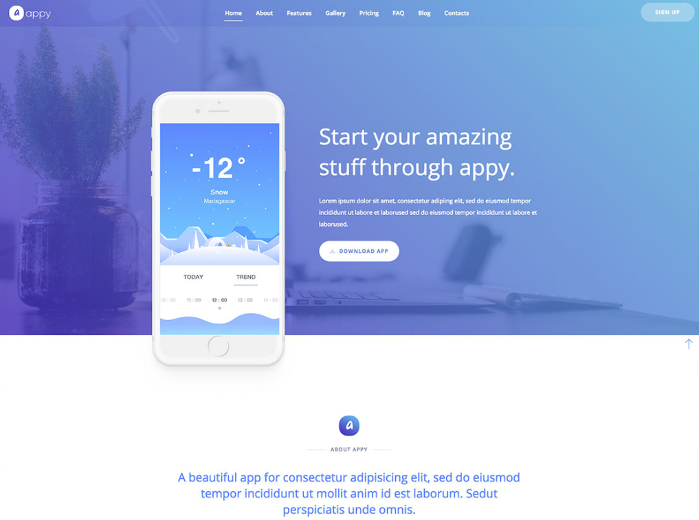 Pin On Landing Page Html Templates