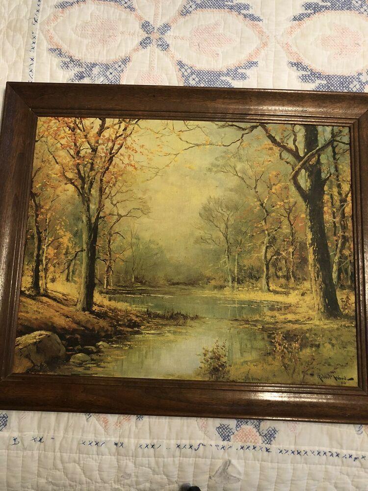 Robert Wood Prints : robert, prints, ROBERT, SIGNED, LANDSCAPE, VINTAGE, PRINT, #Vintage, Robert, Wood,, Vintage, Prints,, Landscape