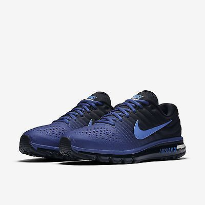 Nike Air Max 2017 Royal Blue Hyper Cobalt Men Running (849559-401 ... db2cae7747