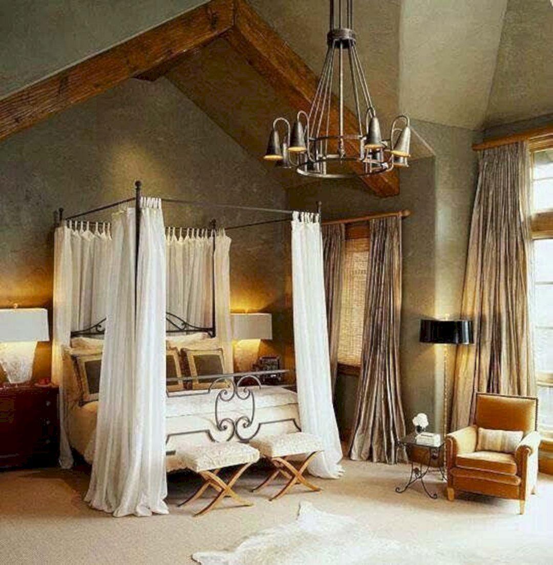 25 Stunning Transitional Bedroom Design Ideas: 25 Beautiful Rustic Bedroom Decor Ideas For Comfortable