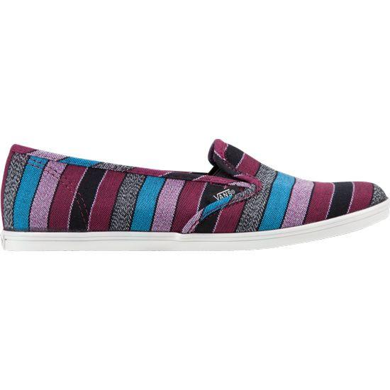 VANS Guate Stripe Slip-On Lo Pro Womens Shoes  d82e5d40f845