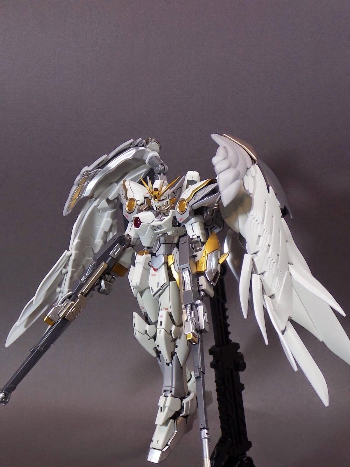 RG 1/144 Wing Gundam Zero - Customized Build | Gundam