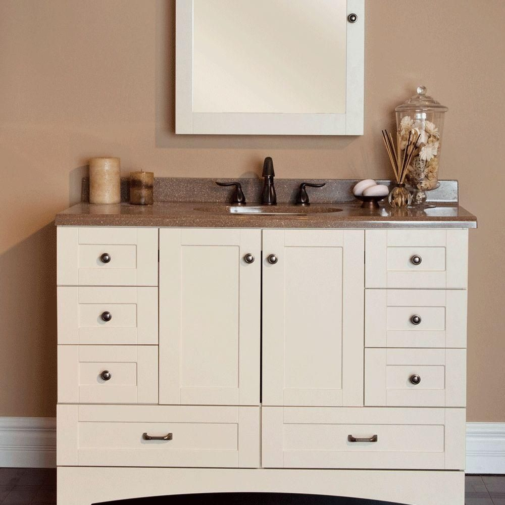 st paul manchester in w x 215 in d x in h vanity cabinet only in vanilla