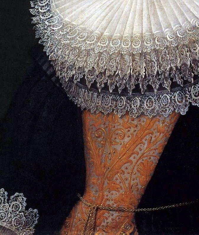 Les peintres par le détail : portrait of a woman : van Mierevelt