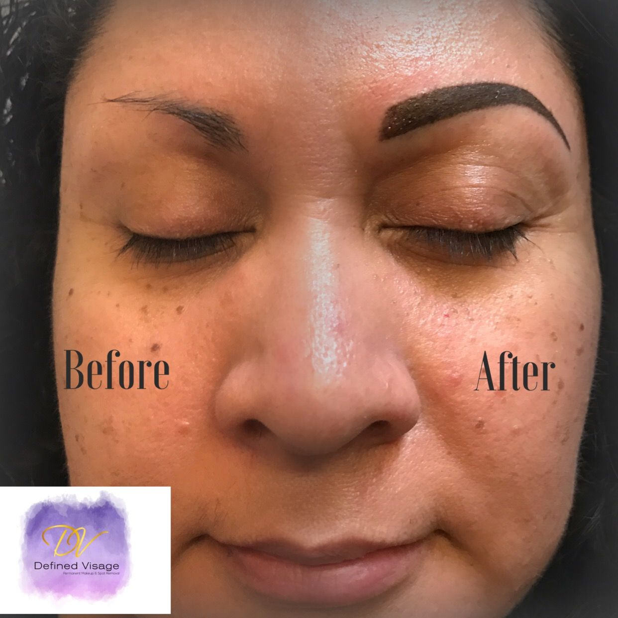 Pin by Defined Visage on Before & After Microblading