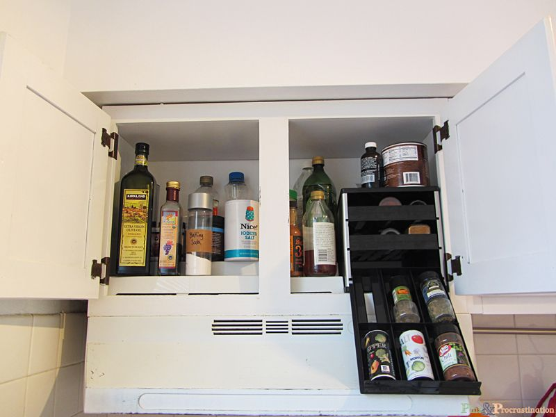 Kitchen organization: Solutions for Small Kitchens - Pins and Procrastination