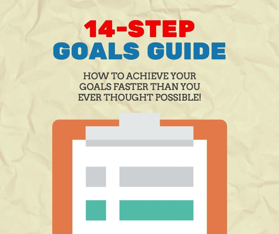 Download My 14 Step #Goal Setting Guide To Achieve Your Goals In 2017!