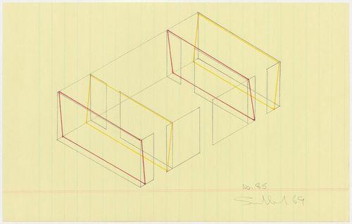 MoMA | The Collection | Fred Sandback. No. 85. 1969