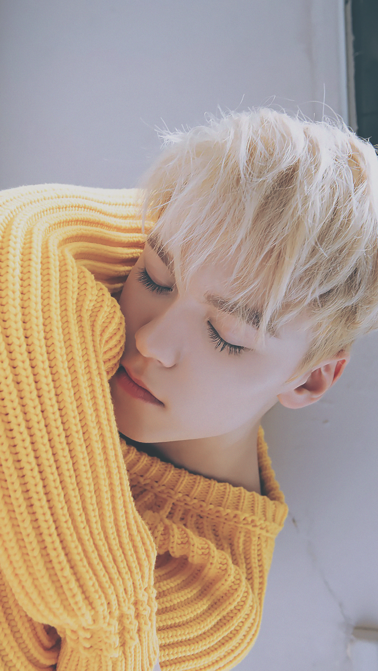 The aesthetic for this picture of Vernon is incredible.