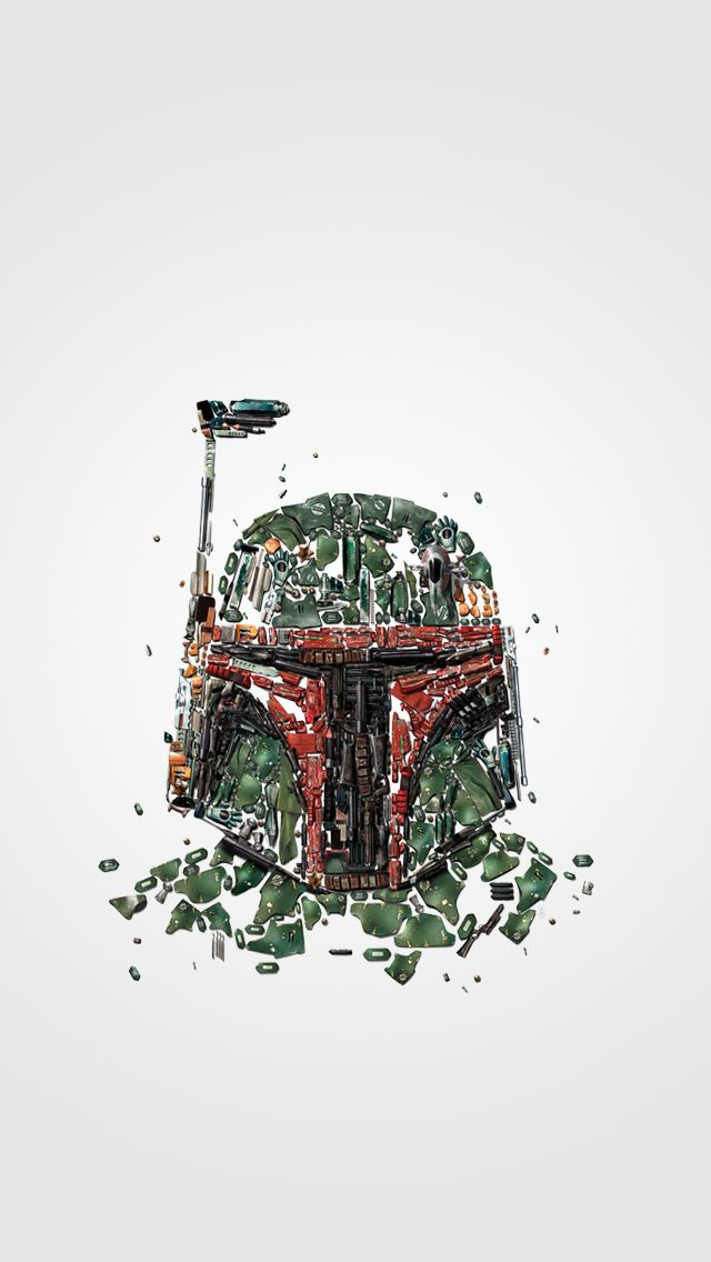 Boba Fett Scraps IPhone 5 Wallpaper Star Wars Iphone