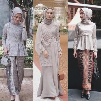 Mau Terlihat Kalem Saat Datang Ke Kondangan Cobain Look Hijab Ini Aja Ladies Hijab Style