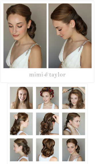 Classic 1950's 1. Start this look by adding some mouse