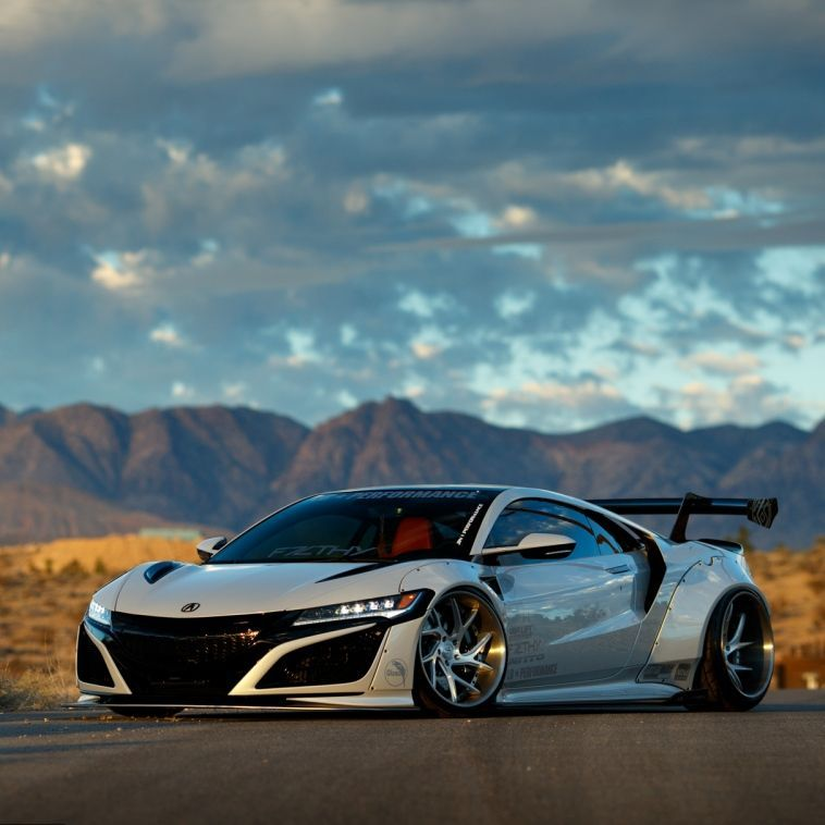 Acura NSX Gets The Liberty Walk Widebody Treatment Exotic Cars