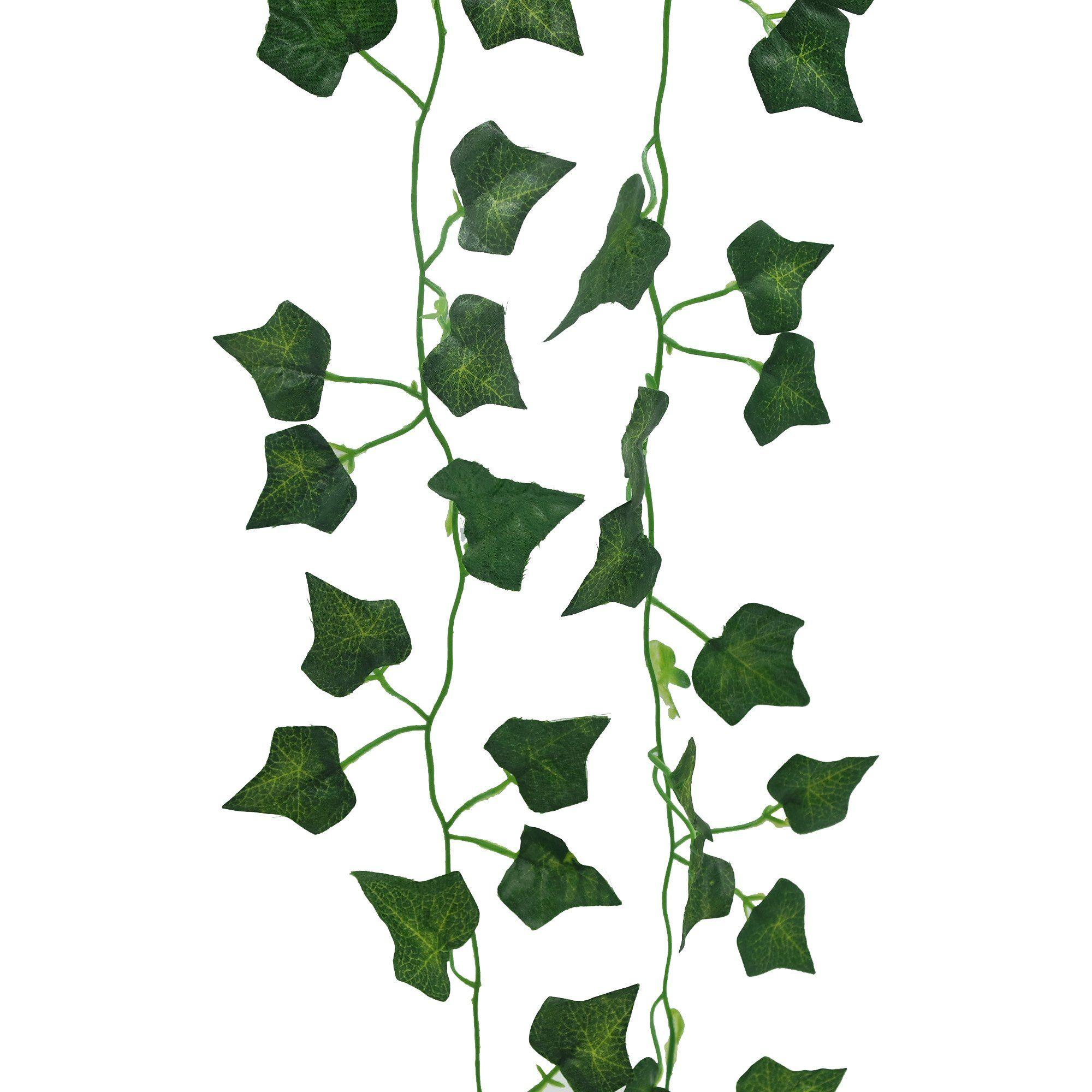 YHuaM 80 Leaves Artificial Ivy Plant Vines Decorative Vines