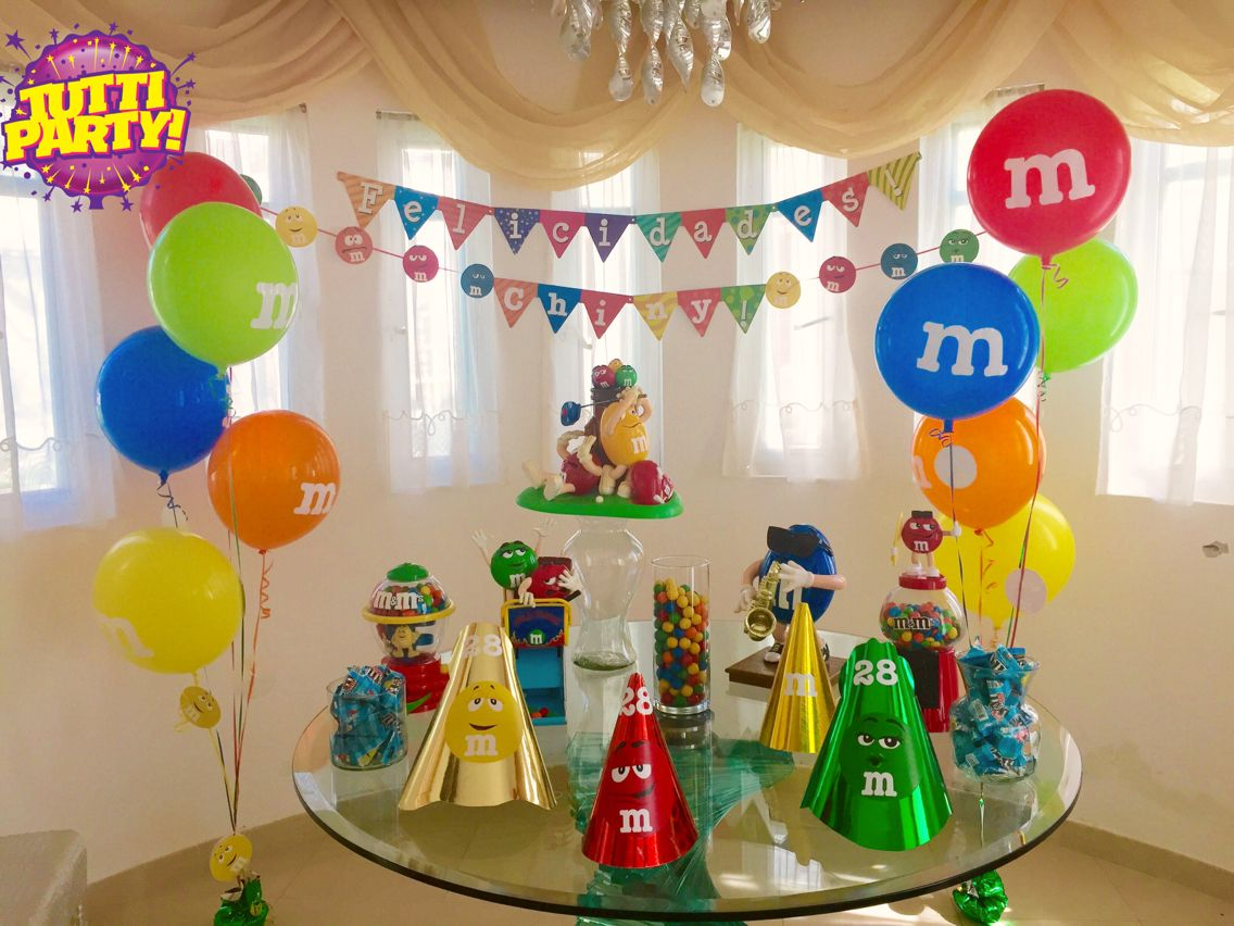 Party balloons decorations - M M Party Decorations M Ms Party Ideas Bubble Balloons Balloons Decorations Helium Bouquets