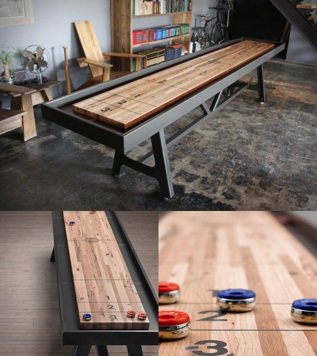 Shuffleboard Table | By District MFG