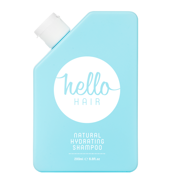 Hello Hair Natural Hydrating Shampoo 200mL BEST SELLER