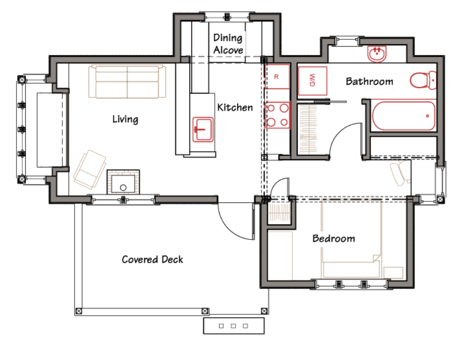 elegant simple floor plans for a small house on floor with house plans ross chapin - Houses Plans