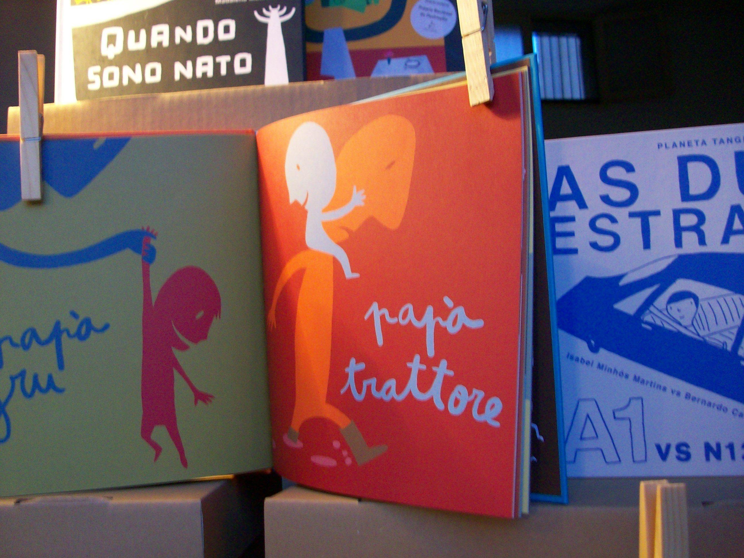 Libri irresistibili  P di papà, Isabel Minhós Martins e Bernardo Carvalho, Topipittori