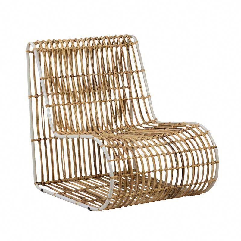 modern bamboo strip side chair chairs