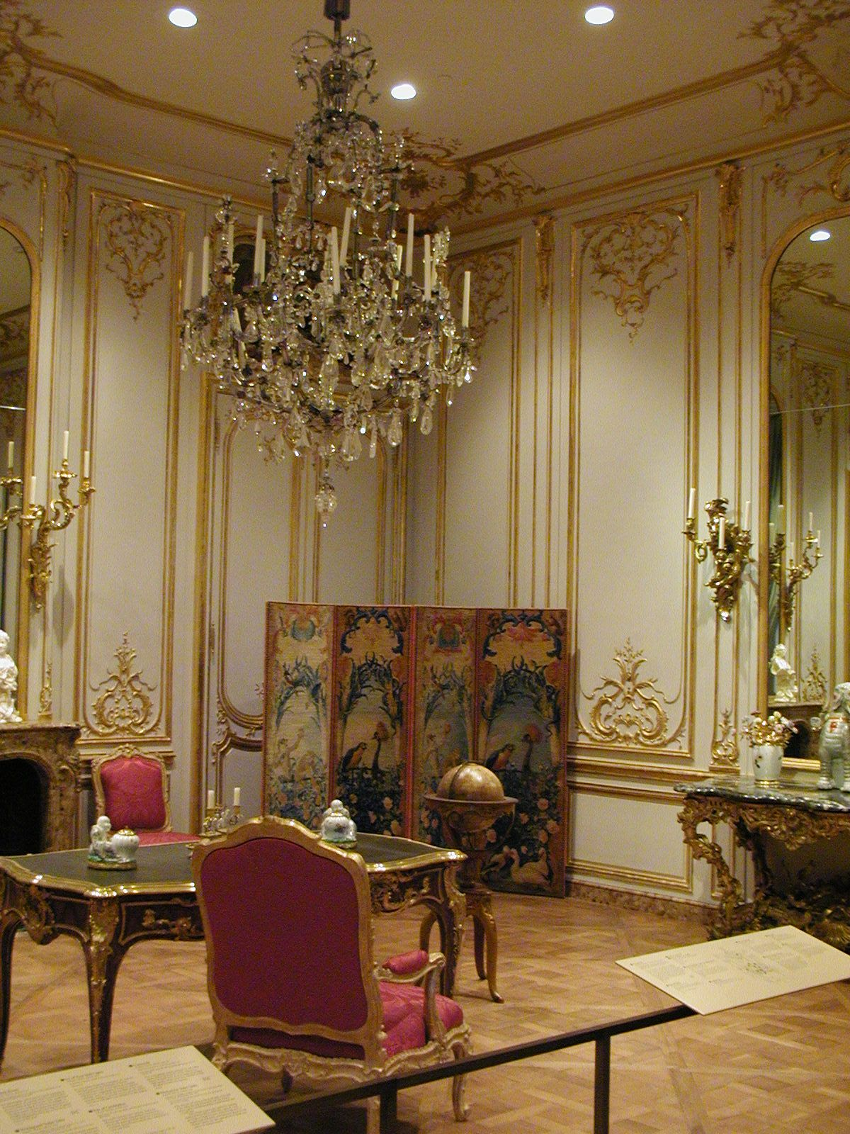 French Rococo Interior - Click On A Image To Bring