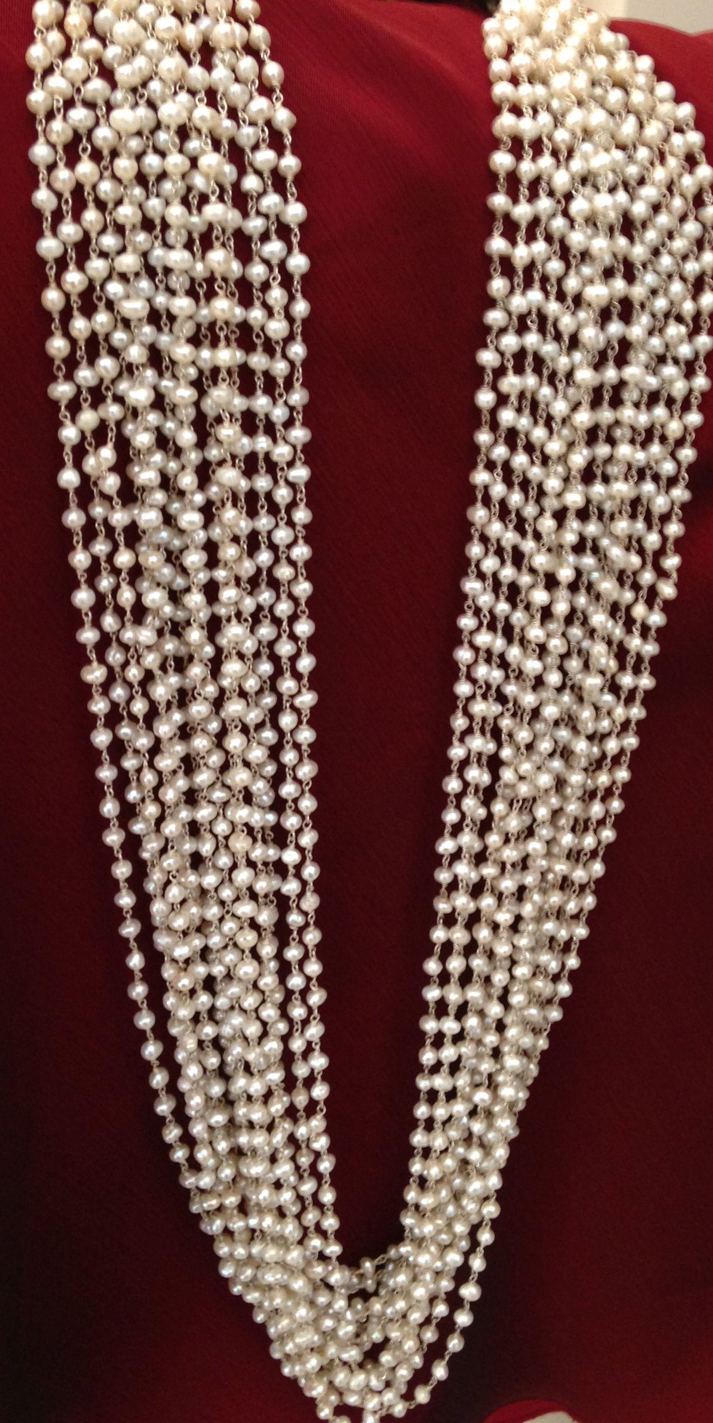 Pearls from Kuber jewellers,Jaipur