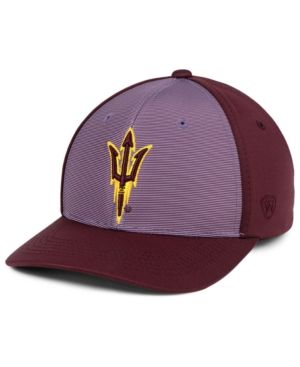size 40 03824 215e1 Top of the World Arizona State Sun Devils Mist Cap - Red Adjustable