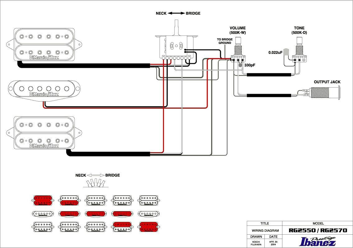 Hsh Pickup Wiring Diagram