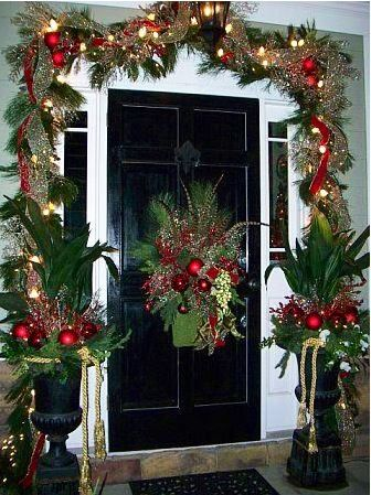 La portaper far entrare Natale Christmas ideas Pinterest