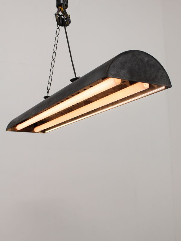 025577 blackened galvanised flush light with two strip lights and 025577 blackened galvanised flush light with two strip lights and two strips of led running along each edge size width 250mm length 1080mm aloadofball Image collections