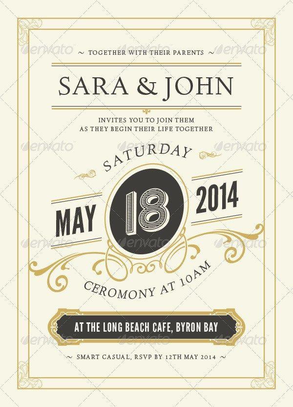 Wedding Invitation download template invite social Pinterest