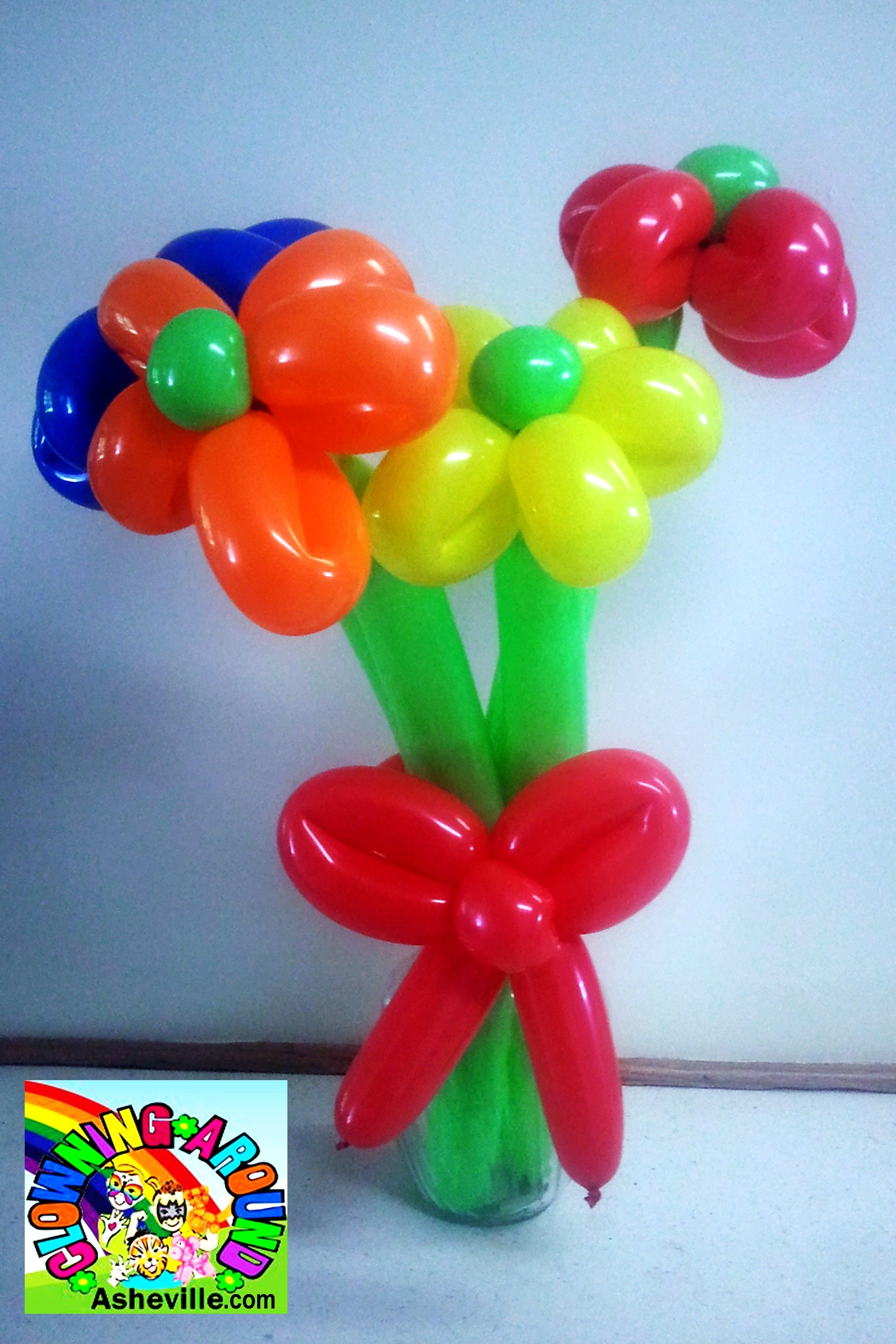 Simple Flower Bouquet Balloon Twisting Balloon Twisting