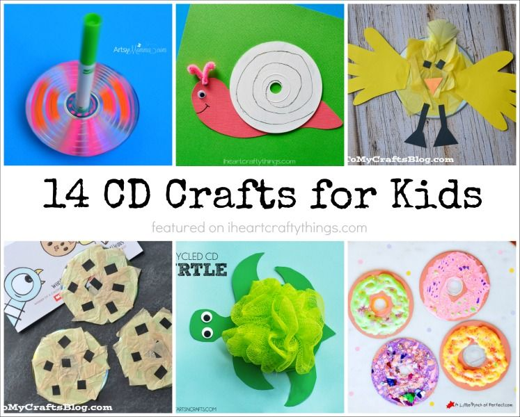 Cd Craft Ideas For Kids Part - 19: 14 Super Cute CD Crafts For Kids