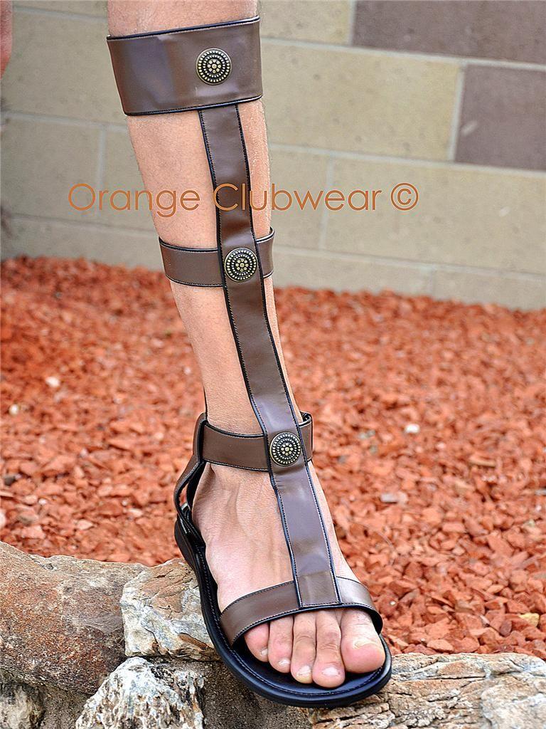 Gladiator Greek Egyptian Roman Sandals Up to Mens 10