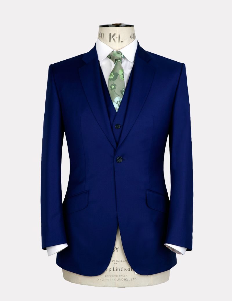 Marc Wallace Electric Blue Suit | My Man | Pinterest | Green, Wool ...