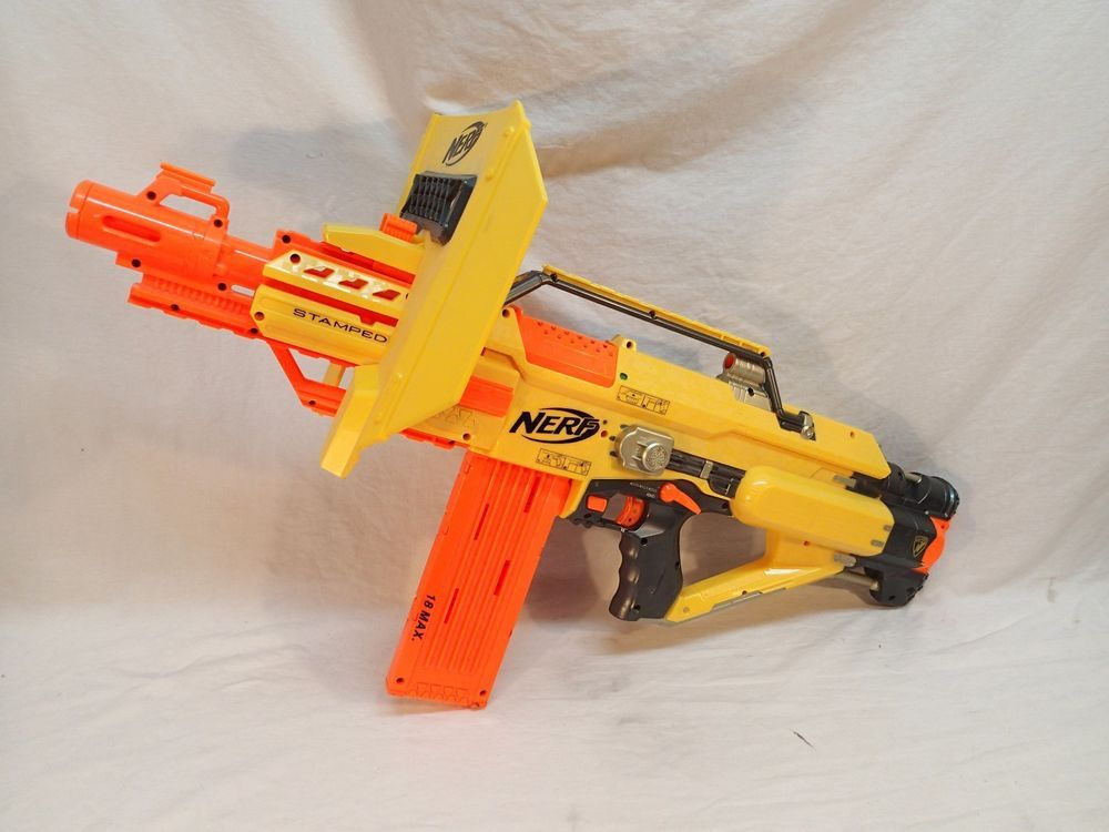 NERF N-strike Elite DualStrike Dual Strike Blaster