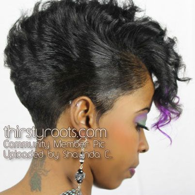 Razor Cut Hairstyles For Black Women Hair Pinterest Short Hair
