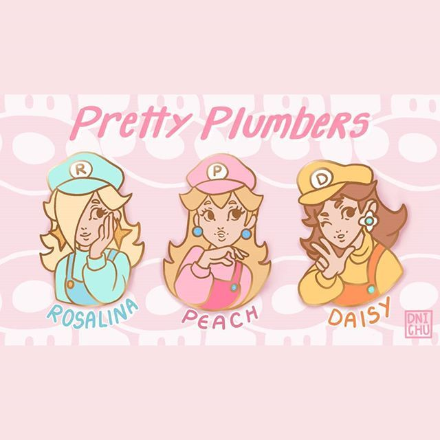 Hello everyone! I just launched my first enamel pin Kickstarter ✨ I'm super nervous! Any support would be greatly appreciated 🌟 The link is in my bio! . . . . . . #kickstarter #enamelpins #pin #nintendo #nintendoswitch #princesspeach #princessdaisy #rosalinaandluma #rosalina #supermario #supersmashbros #ssbu #pastelaesthetic #pastel #artistsoninstagram