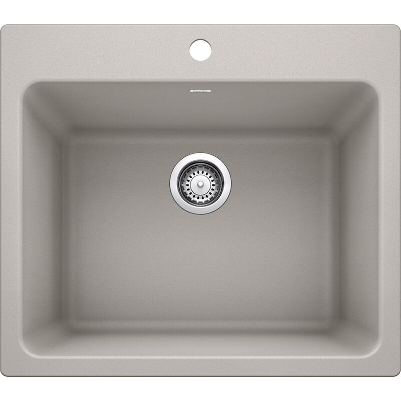 Liven 25 X 22 Dual Mount Laundry Sink In 2020 Laundry Sink
