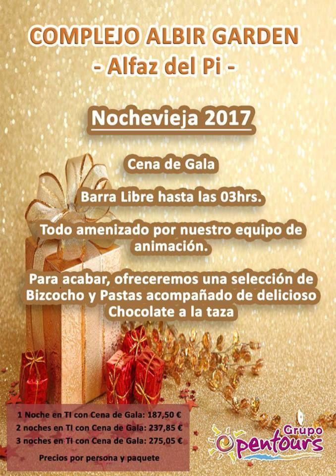 Complejo Albir Garden Resort **** (Alfaz del Pi, Alicante) Especial FIN DE AÑO, desde 187,50€ por persona Oferta válida desde 1 noche ---- #albirgarden #alfazdelpi #albir #alicante #findeaño #nochevieja #paquetes #escapadas #ofertas #hoteles #agentesdeviajes #agenciasdeviajes #opentours #grupoopentours ------ Más info y condiciones generales de esta oferta en www.opentours.es