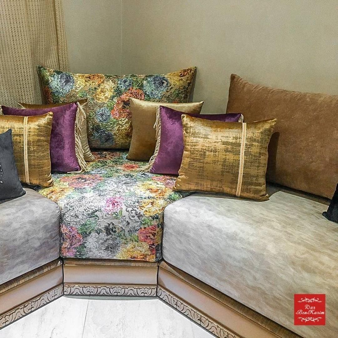 Dar Benkarim On Instagram Le Salon Marocain Traverse Les Generations Et S Impose Chez Nous Comme Une A Moroccan Decor Living Room Burgundy Bedroom Home Decor